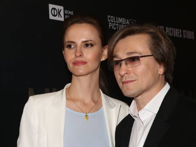 Сергей Безруков показал романтичный снимок с супругой