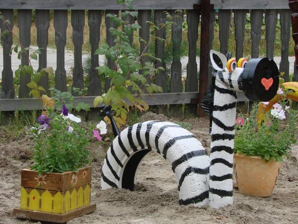 Из чего можно сделать поделки для сада своими руками