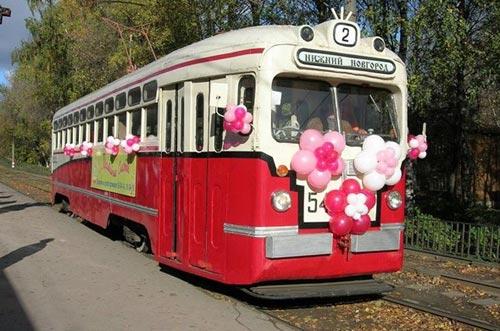 Свадебный вагон