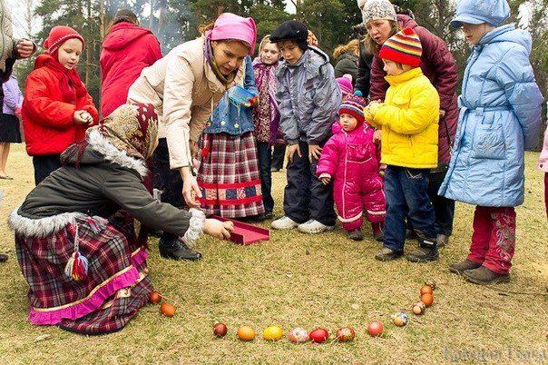 Народные традиции и обычаи на «Красную горку»