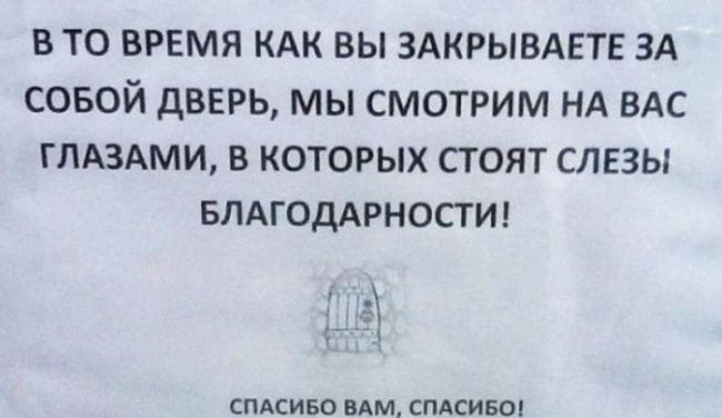СМЕШНЫЕ ОБЪЯВЛЕНИЯ :))