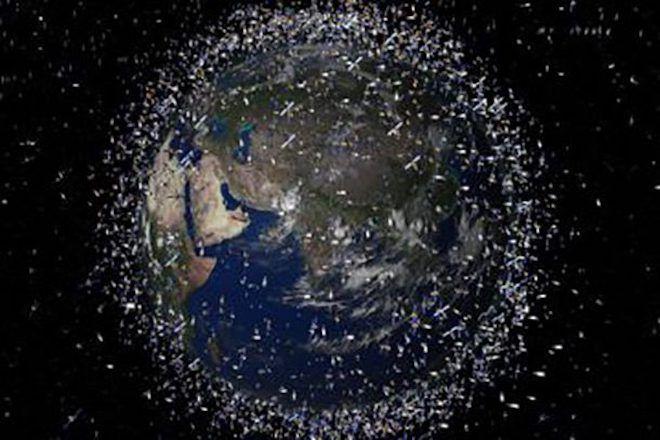 Осколки вокруг Земли