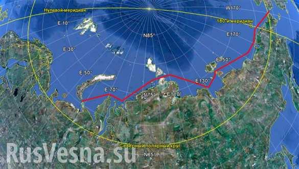 Китайское судно впервые прибыло в Санкт-Петербург Северным морским путем
