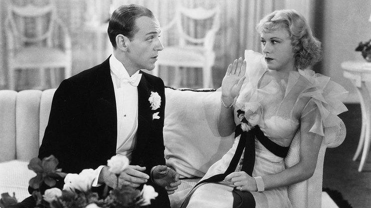 кадр из к/ф «Веселый развод, 1934»