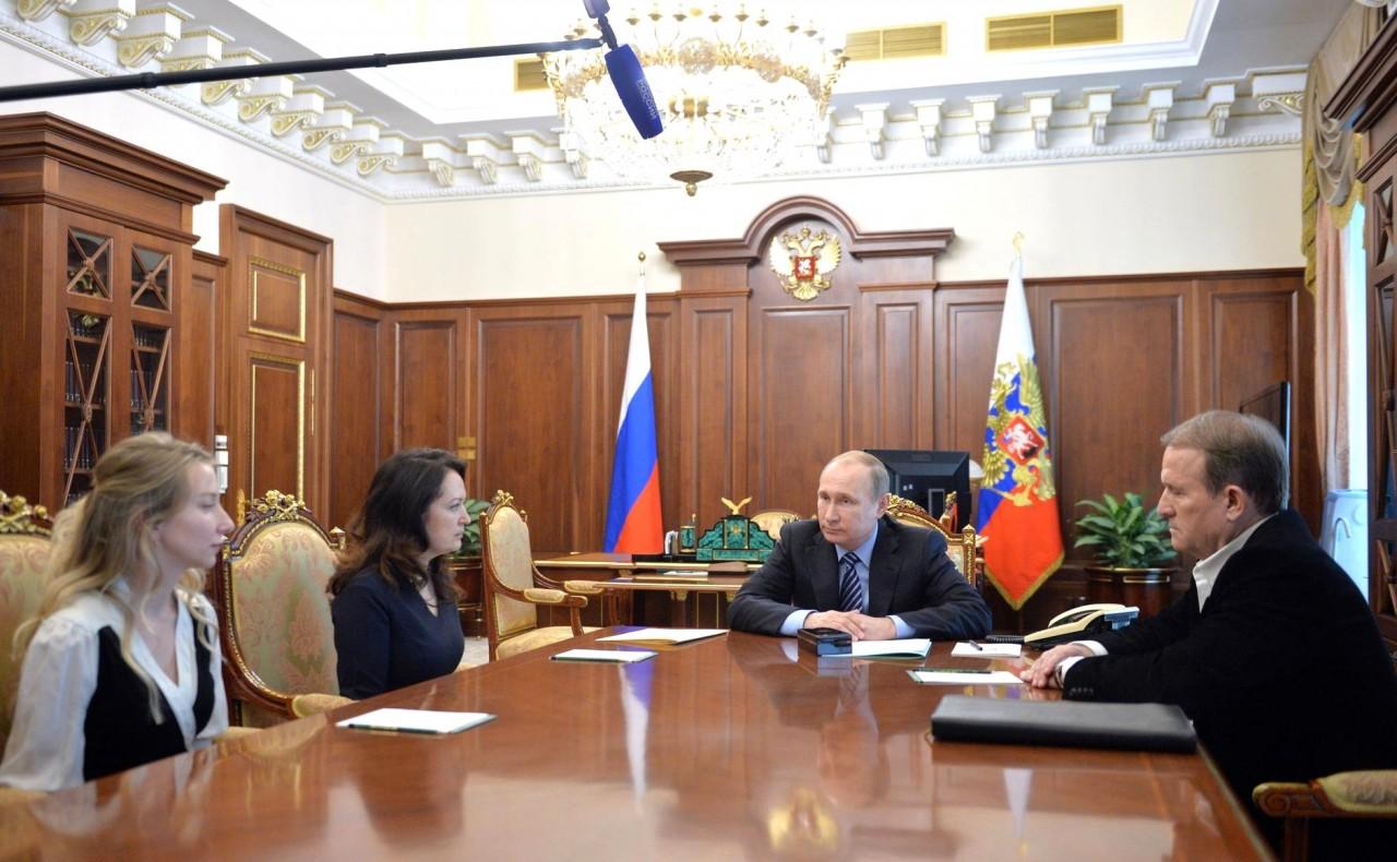 Прошение и Указ о помиловании Надежды Савченко