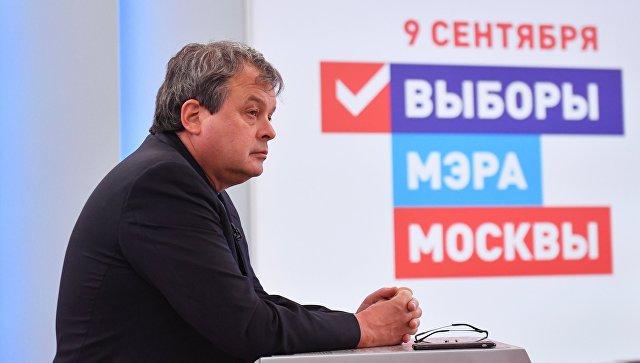 Кандидат в мэры Москвы Балакин будет считать успехом любой процент
