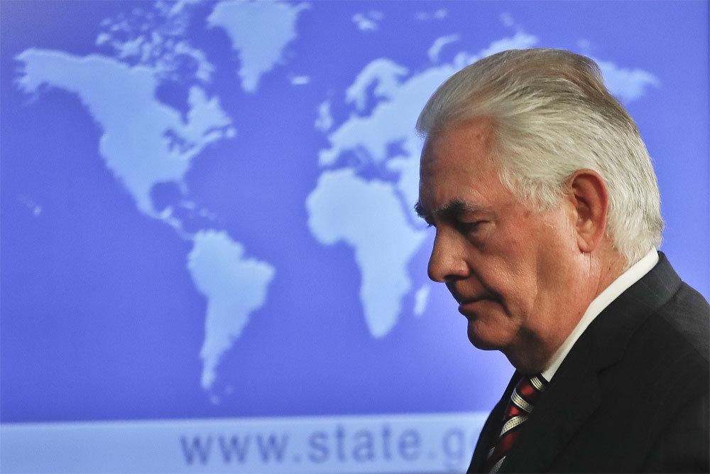 Покинет ли свой пост госсекретарь США Рекс Тиллерсон