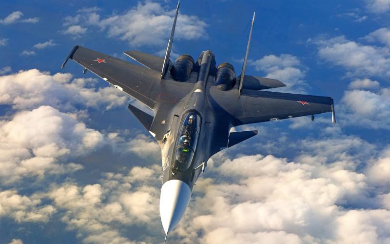 Российский истребитель напугал разведывательный самолёт ВВС США