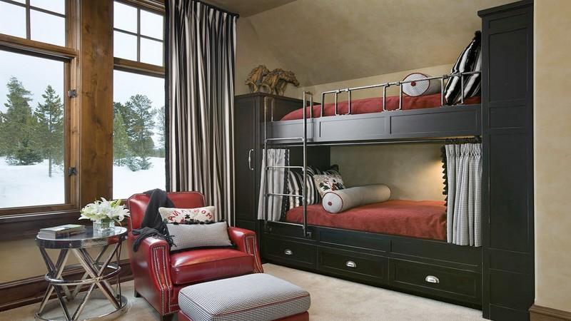 Впрочем, такие кровати можно делать и для взрослых двухъярусная кровать, дизайн, идеи, маленькая квартира