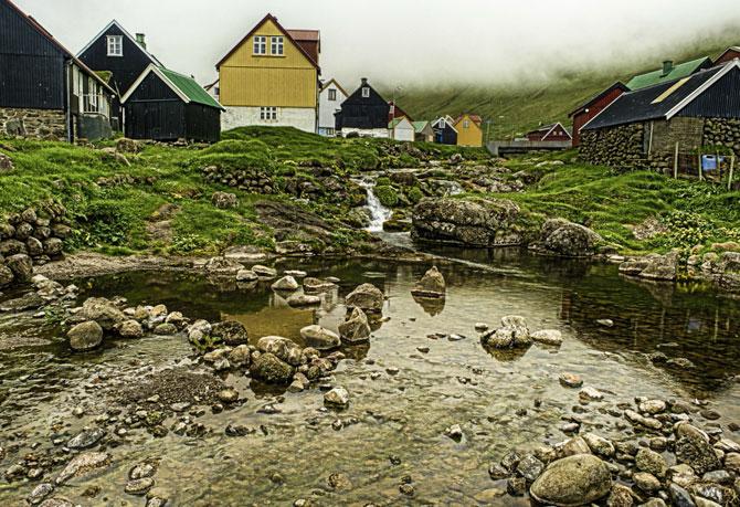 10 сказочных деревень Фарерских островов