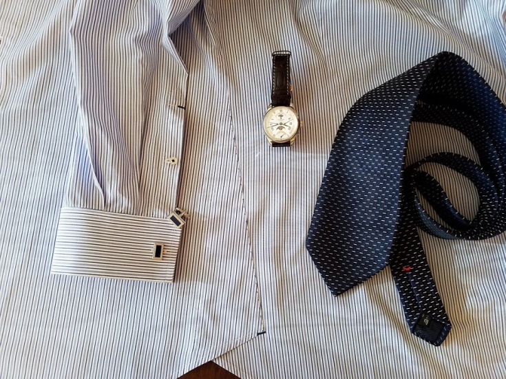 Ретро обработка ластовицы в мужской рубашке (мастер-класс)