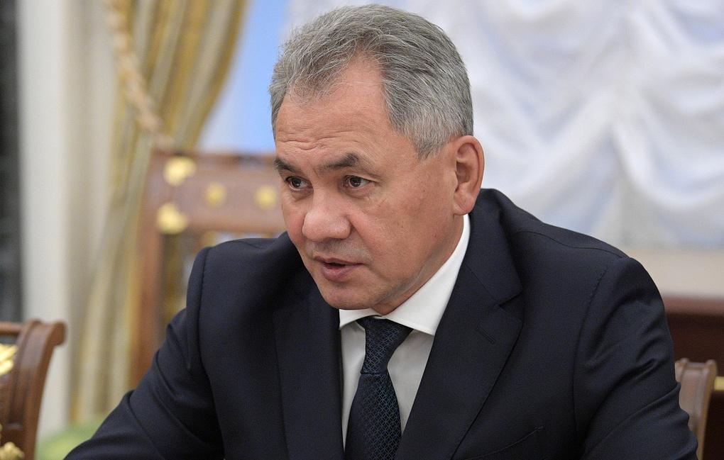 Шойгу доложил Совбезу об осуществлении поставки С-300 в Сирию