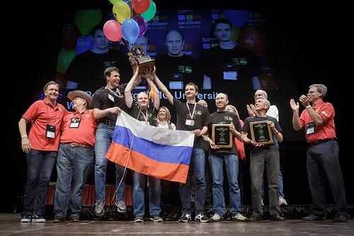 Россия сегодня в седьмой раз стала чемпионом по программированию