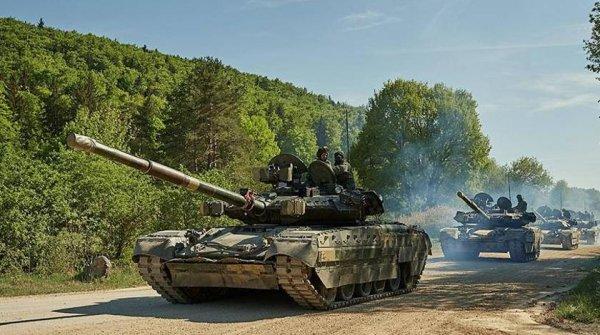 Украинские танкисты опозорил…