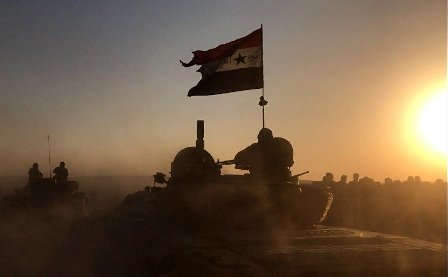 Сирийская армия взяла штурмом Абу-Кемаль