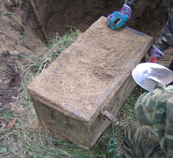 Схрон, найденный на даче