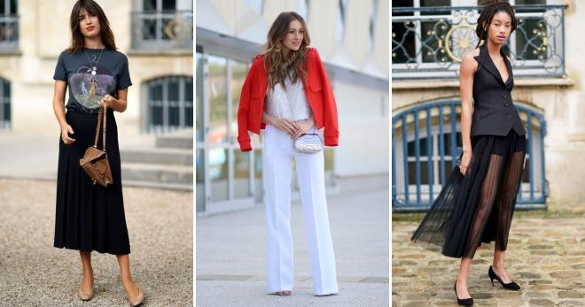 Французский стиль – модные женские образы для любого времени года