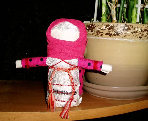 Обережная кукла Зерновушка или Крупеничка