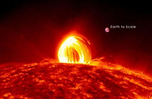 У поверхности Солнца засняли корональные дожди