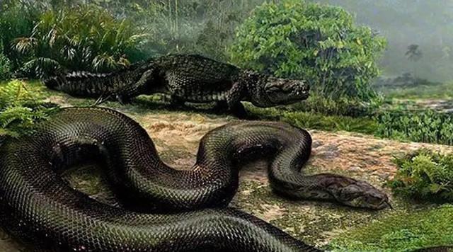 Титанобоа: морской змей весо…