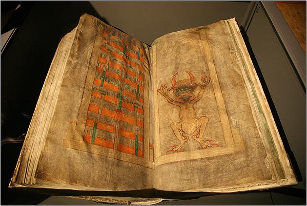"""Кем была написана """"Библия Дьявола"""""""