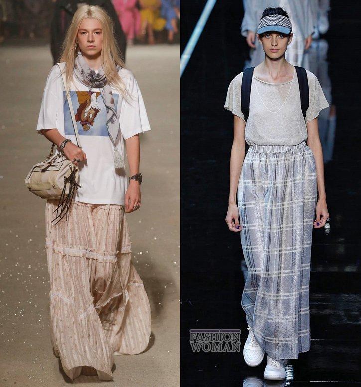 Модные юбки весна-лето 2019 фото №16