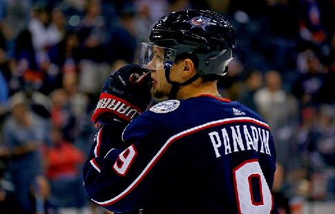Панарин набрал 5 очков в одном матче впервые в карьере