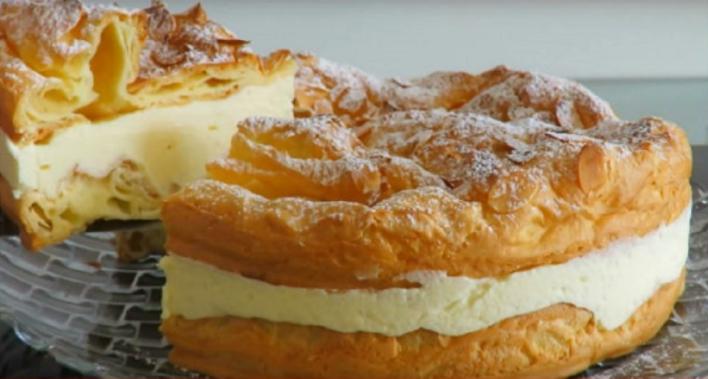 Польский торт «Карпатка»