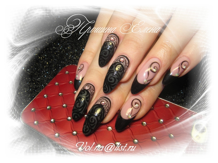 Дизайн ногтей роспись 2017 новинки