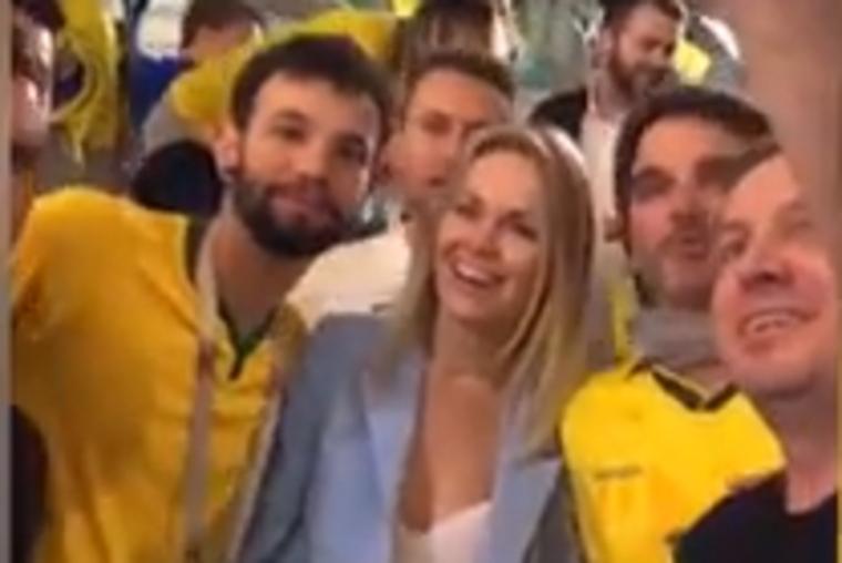 Бразильских болельщиков нака…