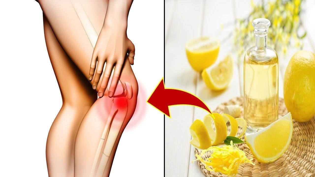 Лимонная цедра может навсегда избавить от боли в суставах