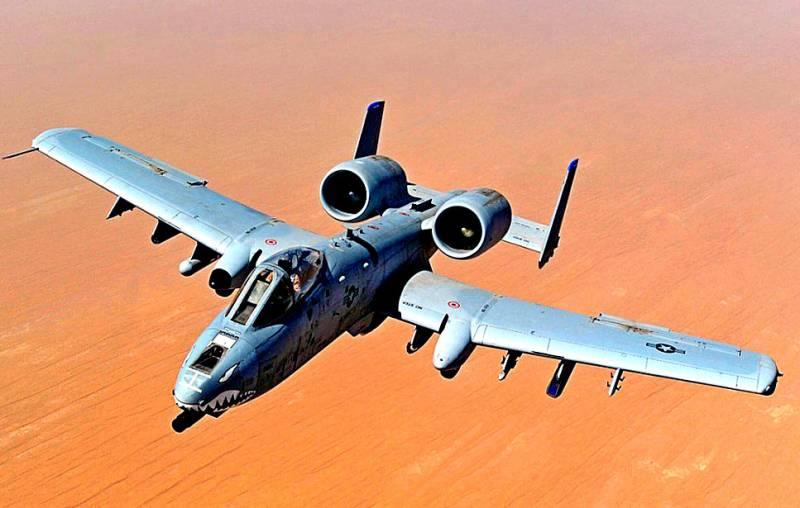 «Бородавочники» атакуют: Штурмовики А-10 показали свои возможности