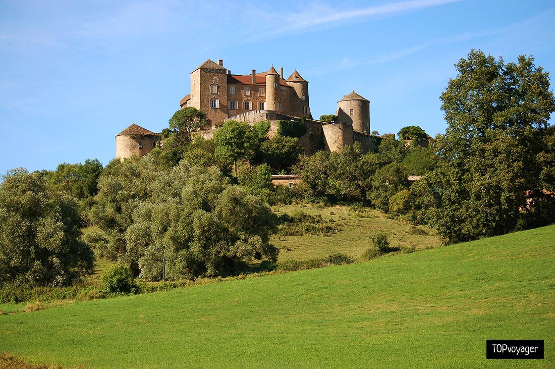 Замок Берзе-ле-Шатель: средневековая крепость герцогов Бургундии