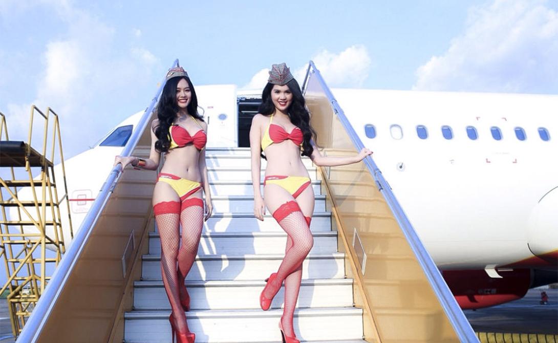 Бикини Эйрлайнс — авиакомпания мечты!