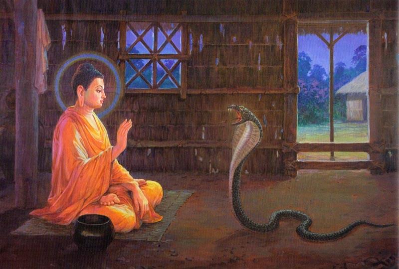 Будда и дъявол