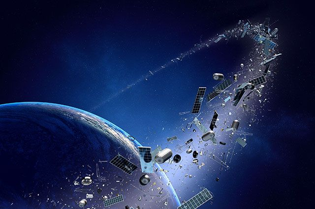 Свалка на орбите? Кто будет «убирать» космический мусор