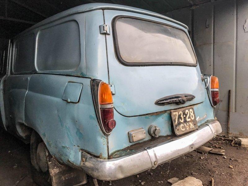Заднюю дверь открыть не получилось Москвич-430, авто, азлк, москвич, находка, олдтаймер, ретро авто, фургон