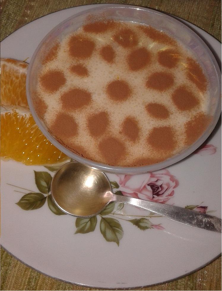 """На праздничный стол для Марго: молочный десерт """"Любава"""""""