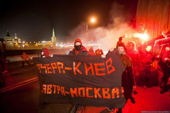 """""""спящие"""" враги России уже активизировались - майдан любой ценой!"""