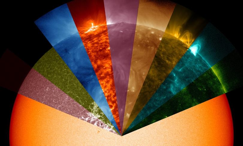 потрясающее Солнце(1 фото )