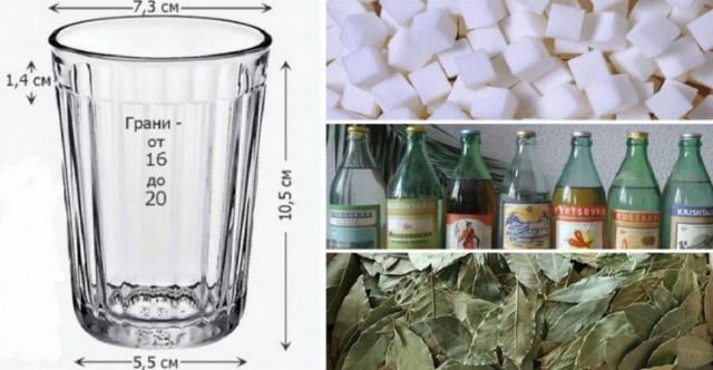 Эта информация точно станет полезной, если вы часто готовите и используете граненый стакан в качестве меры.