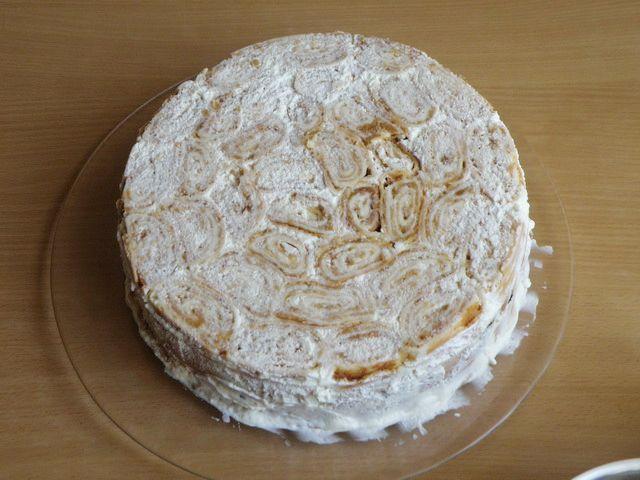 торт Трухлявый пень в своей основе. пошаговое фото приготовления торта Трухлявый пень