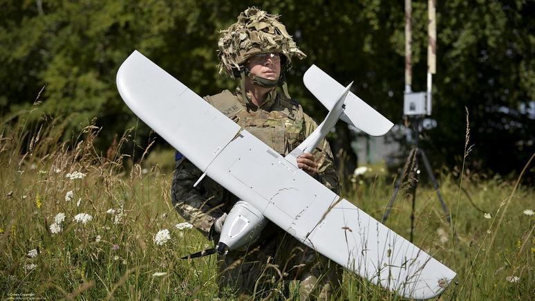 """Западная пресса сокрушается: """"Британская армия закупила дроны, неспособные летать под дождём!"""""""