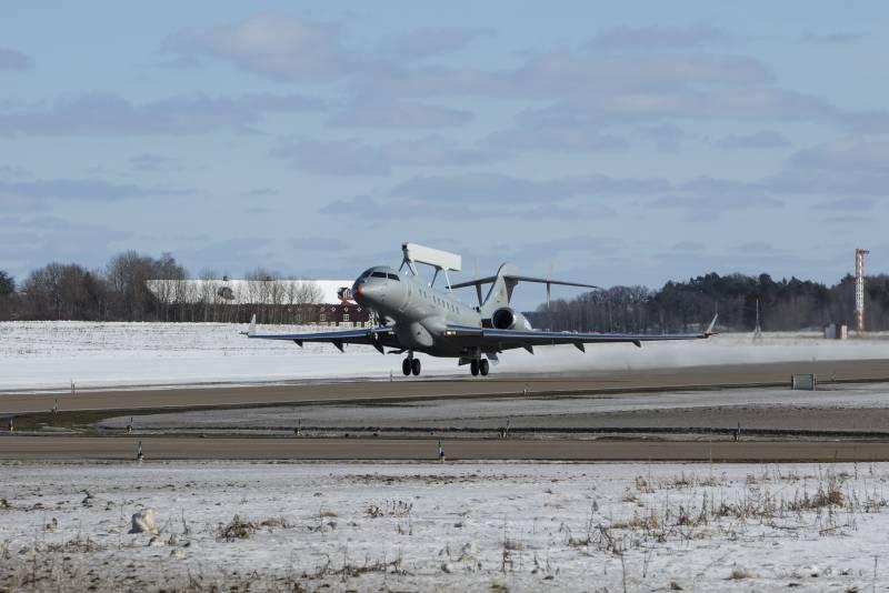Новый самолёт ДРЛО и комплексной разведки Saab GlobalEye (Швеция)