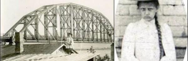 Странная девочка на старых красноярских фотографиях