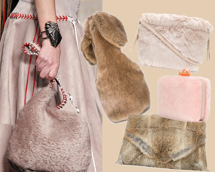 Меховые, круглые, разноцветные: главные осенние модели сумок