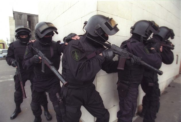 Американец о «безумных» учениях спецназа ФСБ