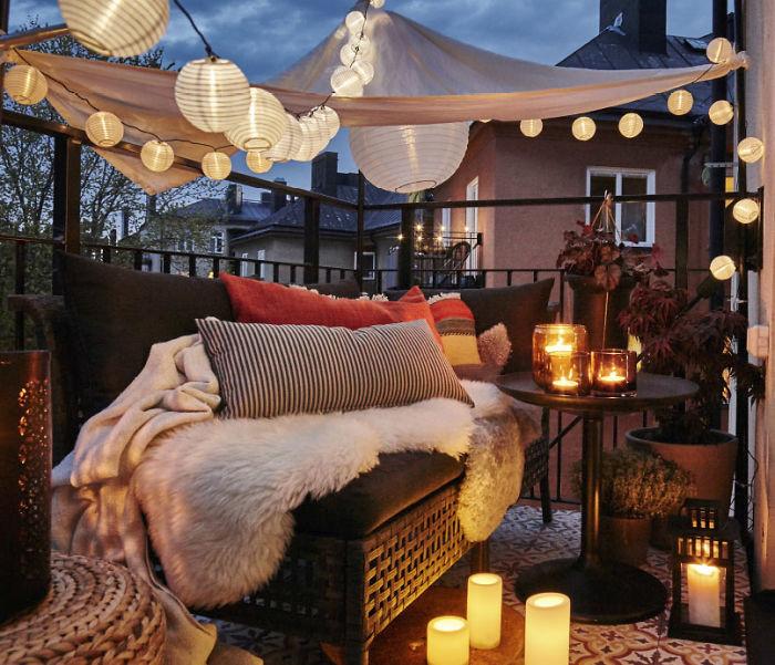 17 отличных идей для декорирования балкона