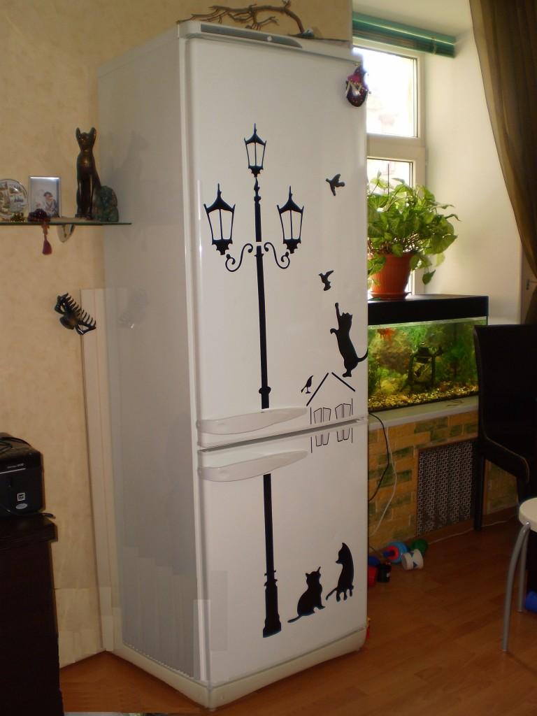 Идеи декора холодильника своими руками фото - Septikspb.ru