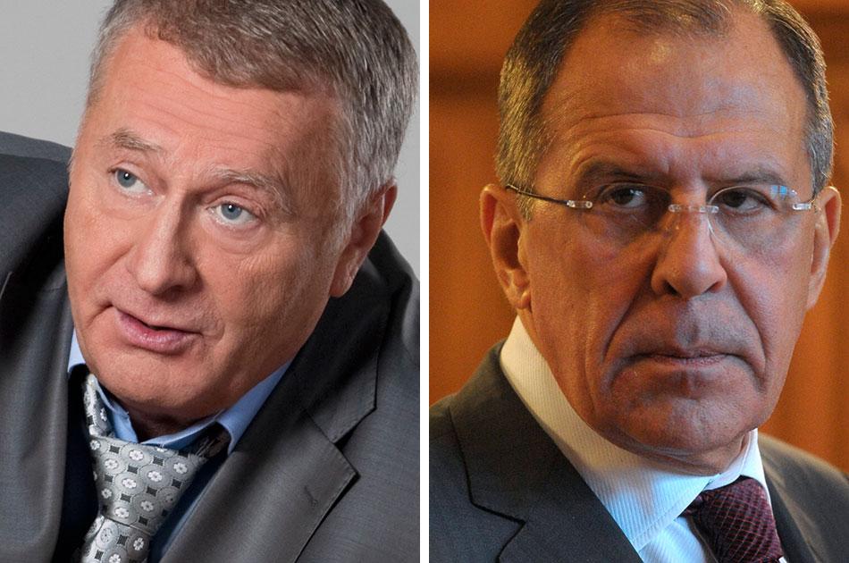 Жириновский v Лавров